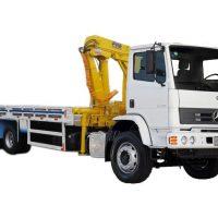 Transporte de torno CNC